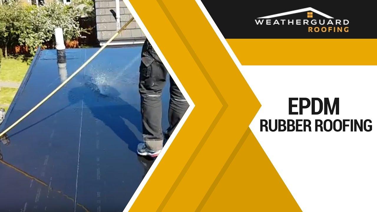 EPDM Rubber Roofing Edinburgh, Weather Guard
