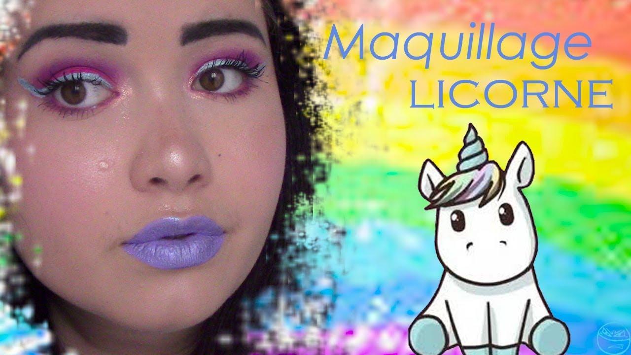 Maquillage de Licorne.