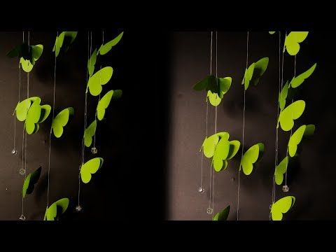 diy-butterfly-wall-hanging-with-paper-|-how-to-make-a-butterfly-wind-chime-with-paper-|-paper-crafts