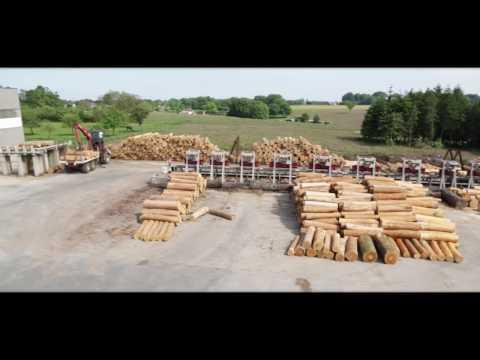 Scierie Lefebvre Hêtre PEFC – Lefebvre Sawmill PEFC Beech – Groupe Lefebvre