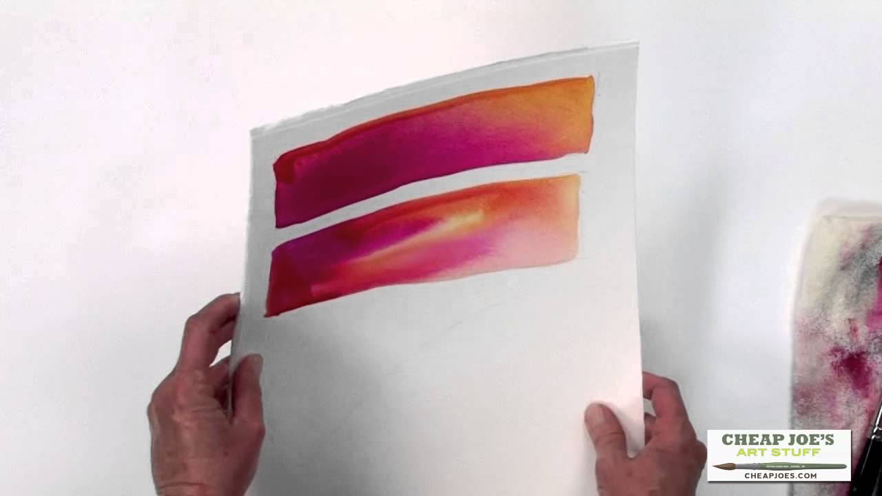 Watercolor Techniques with Birgit OConnorMixing Color and
