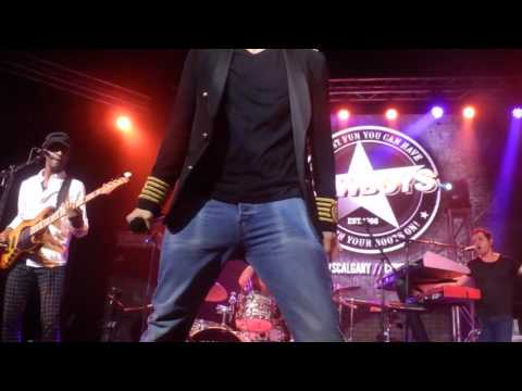 Nick Carter-Burning up/Swet Calgary