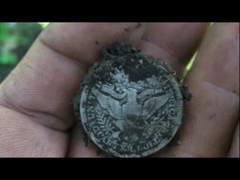 Metal Detecting Central Illinois / It was Raining Barbers/ Awesome Day