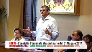 Locri - Consiglio Comunale straordinario del 31 Maggio 2017 (by EL)
