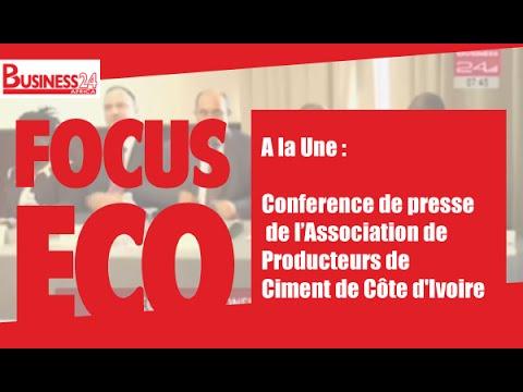 Focus Eco I Conference de presse de l'Association de Producteurs de Ciment de Côte d'Ivoire