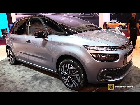 2017 Citroen C4 Picasso - Exterior and Interior Walkaround - 2016 Paris Auto Show