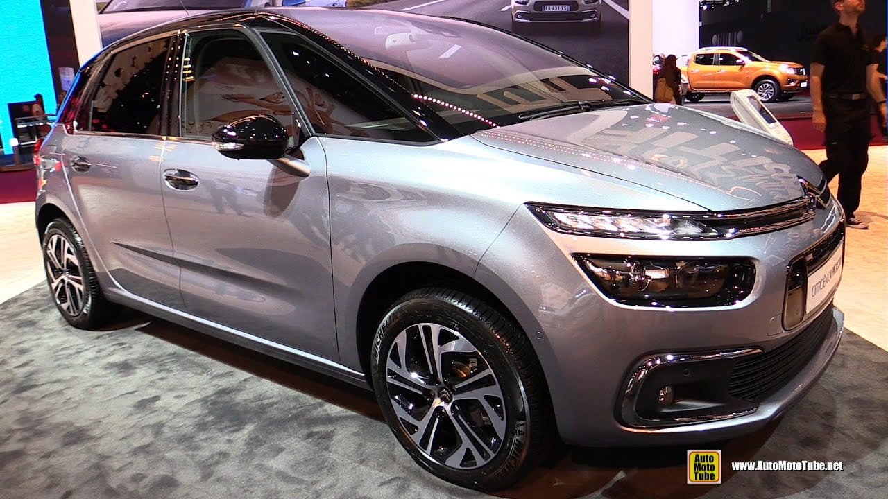 2017 citroen c4 picasso exterior and interior walkaround 2016 paris auto show youtube. Black Bedroom Furniture Sets. Home Design Ideas
