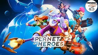 PLANET OF HEROES - MOBA 5V5 GAMEPLAY