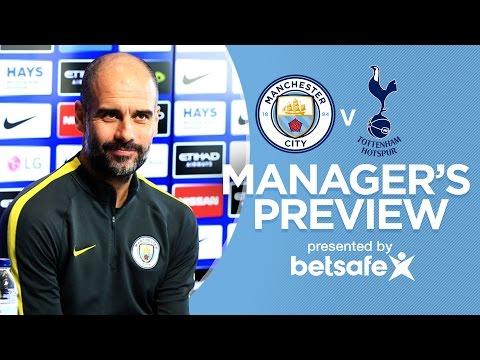 GABRIEL JESUS READY TO PLAY | Man City v Spurs | Guardiola Press Conference