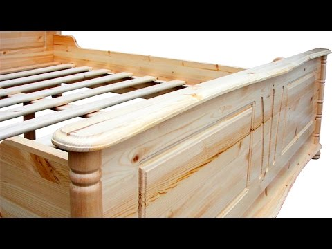Стандартные размеры кровати.