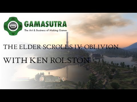 Gamasutra Plays Oblivion with lead designer Ken Rolston