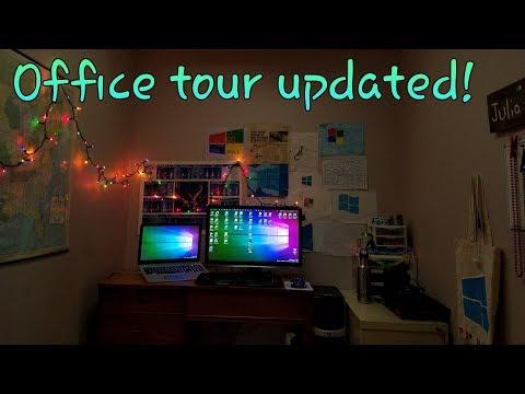 An updated office tour!