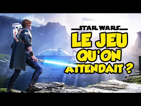 Le jeu STAR WARS qu'on attendait ? | Jedi Fallen Order (Epic Test) thumbnail