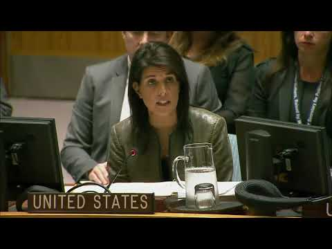 MUST WATCH: Nikki Haley UN Security Council Meeting on the Sahel