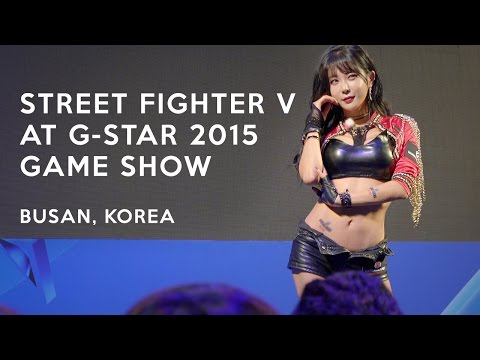 Street Fighter V at G-Star 2015, Korea's Largest Gaming Convention