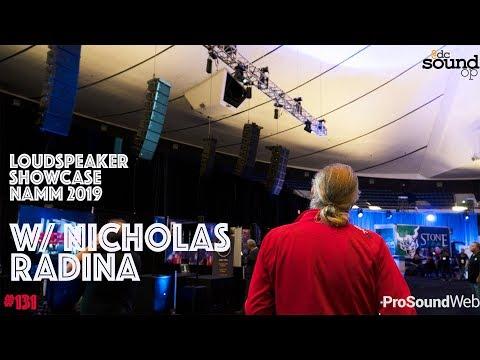 #131 - Line Array Speaker Showcase - Behind The Scenes W/ Nicholas Radina & Live Sound International