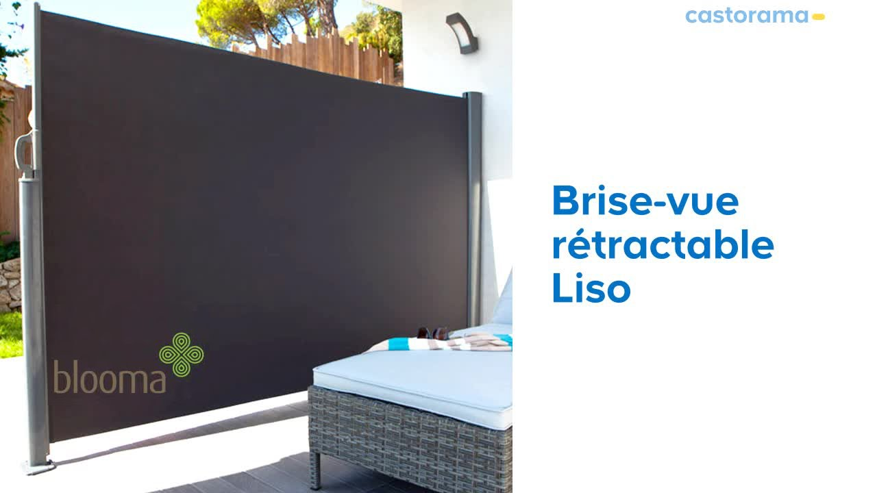 brise vue liso blooma 619650 castorama youtube. Black Bedroom Furniture Sets. Home Design Ideas