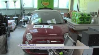 Tour de France : La caravane se prépare dans les Yvelines