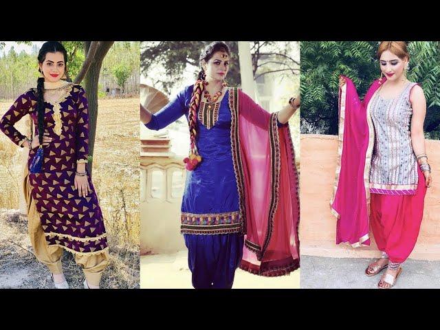 Latest designs of punjabi salwar kameez || Beautiful colorful Punjabi suits || Kaur Trends