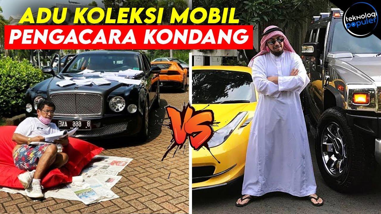 Siapa Paling Tajir? Adu Mewah Koleksi Mobil Hotman Paris vs Sunan Kalijaga