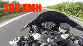 Yamaha R1 300 Kmh First Time Riding A 1000cc Superbike