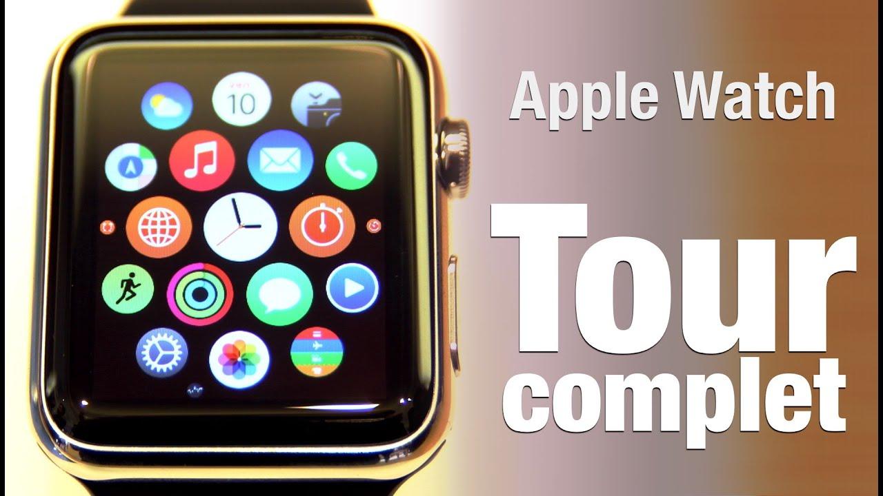Apple Watch GUI & apps