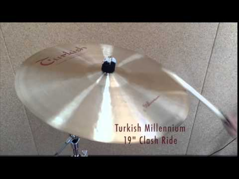 "Turkish Millennium 19"" Clash Ride Cymbal"