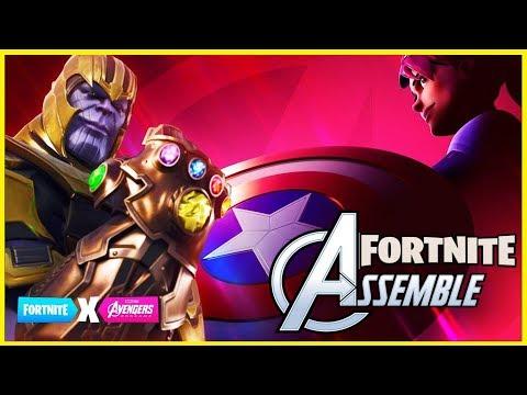 fortnite-vs-avengers-/-nouveau-mode-de-jeux-sur-fotnite