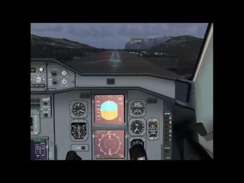 А310 посадка на короткую полосу fsx !