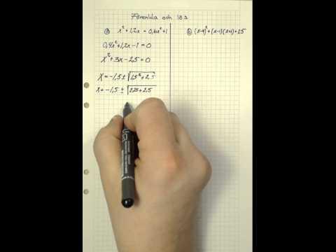 Matematik 2b Matematik 5000 Kap 2 Uppgift 2227