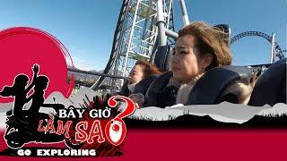 Mlee và Ribi la hét khi đi tàu lượn siêu tốc 'khủng' tại Nhật Bản | BÂY GIỜ LÀM SAO? Đi để khám phá