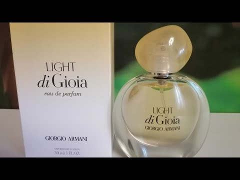 Новый аромат Light Di Gioia Giorgio Armani