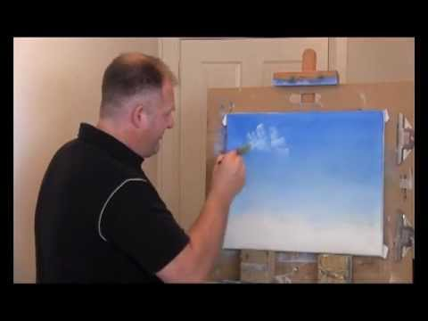 Wet On Wet Oil Painting - Tropical Hideaway Part 1