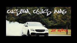2016 Diamond White C63s AMG