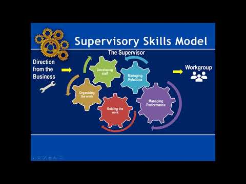 Supervisory Skills Inventory: Important Skills EVERY Supervisor Should Have