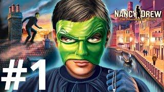 Nancy Drew: The Phantom of Venice Walkthrough part 1