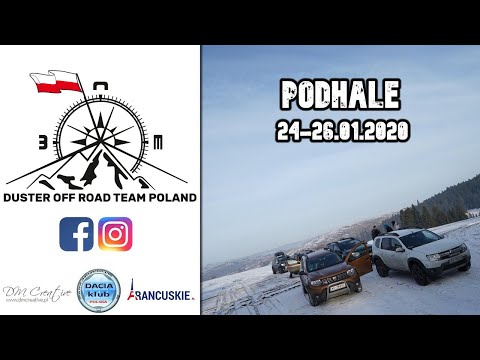 Duster Off Road Team Poland - Podhale 24-26.01.2020 - Tylmanowa