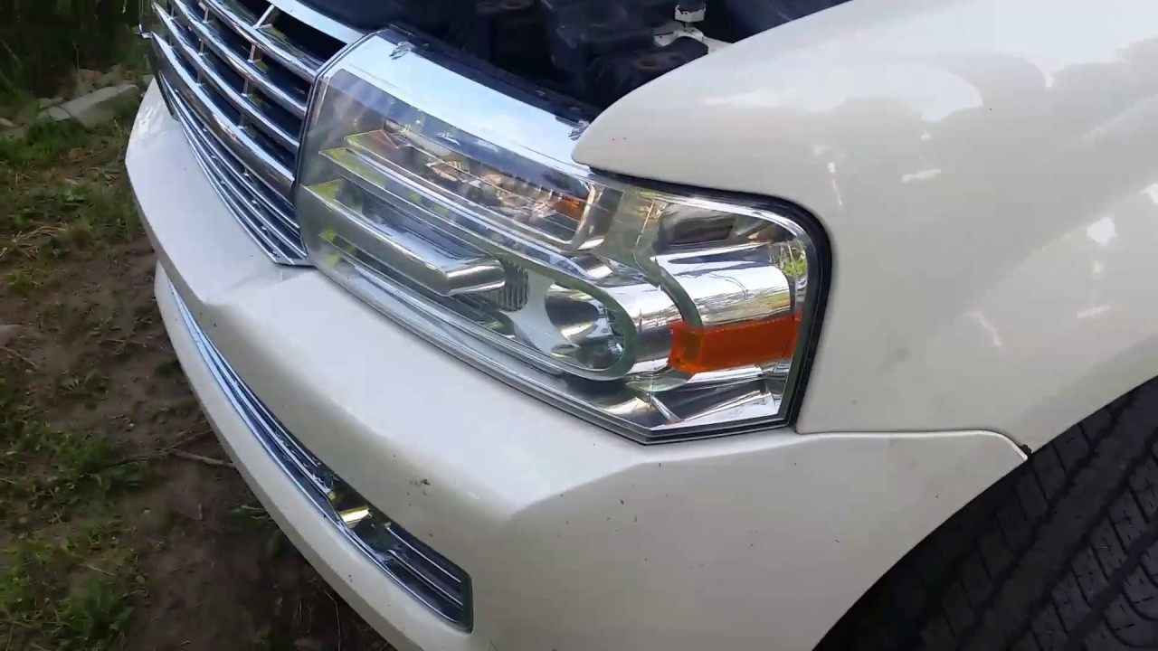 2007 Lincoln Navigator Hid Bulb Replacement How To Youtube