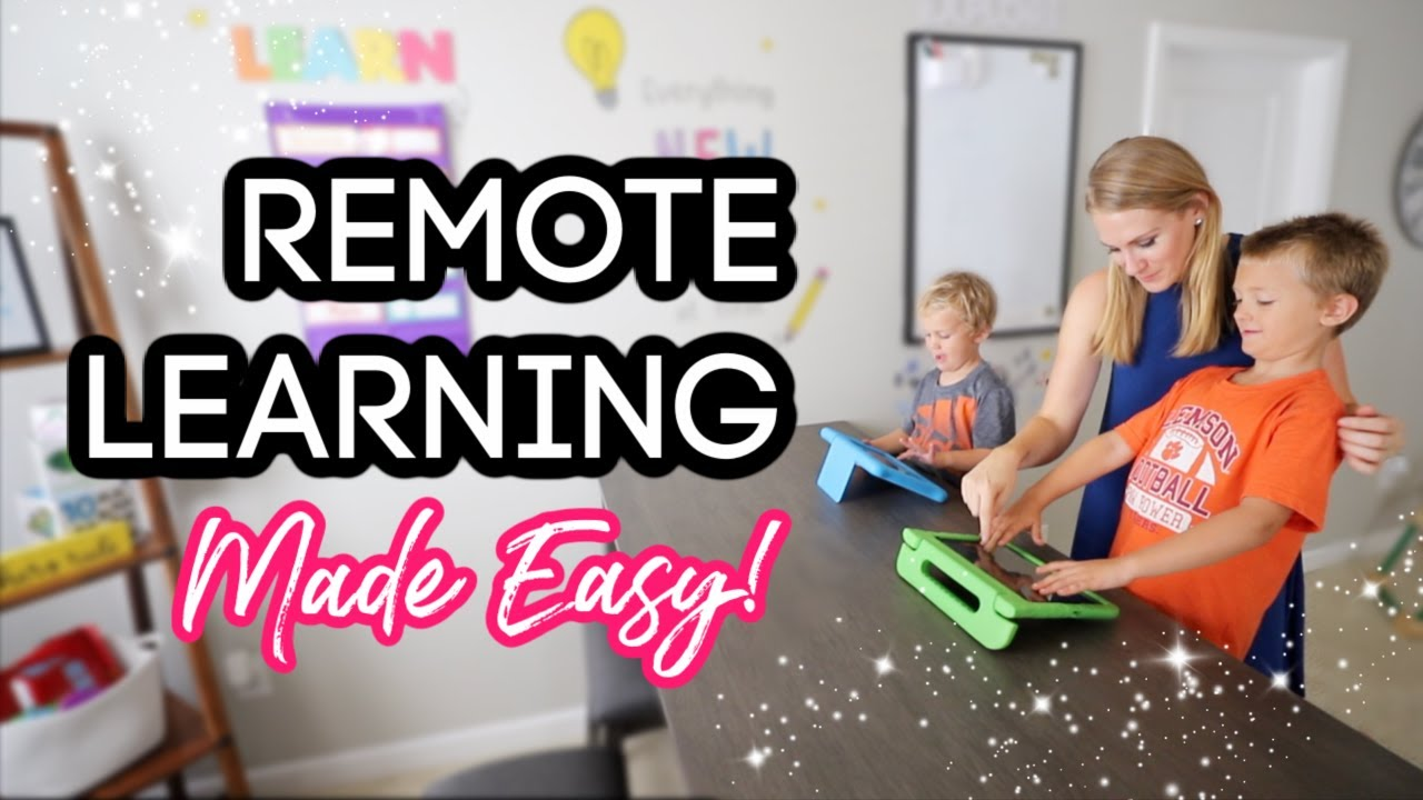 7 SIMPLE WAYS TO ORGANIZE remote learning on a dime! (former teacher here!)