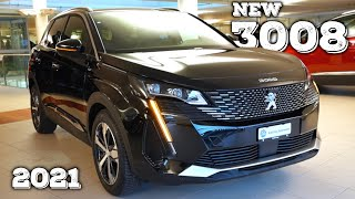 New Peugeot 3008 Facelift 2021 Review interior Exterior