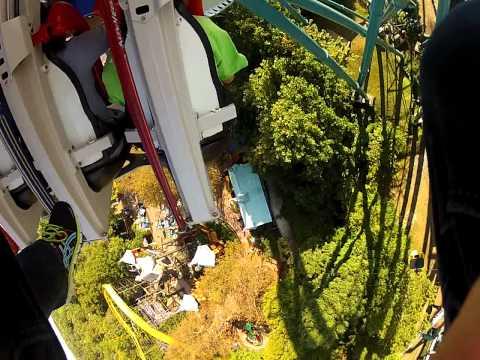 Alpengeist gopro roller coaster