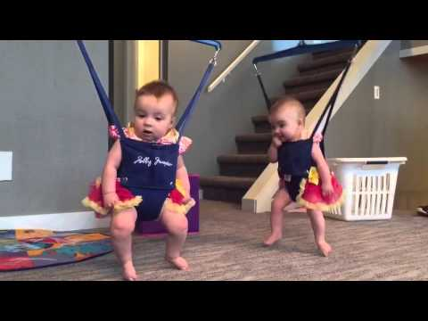 Twins Irish dancing