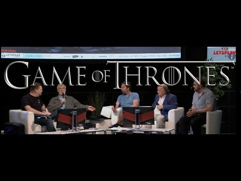 Game of Thrones Actors Interview for Letsplay4Charity @ RPC Köln (28.5.2017)