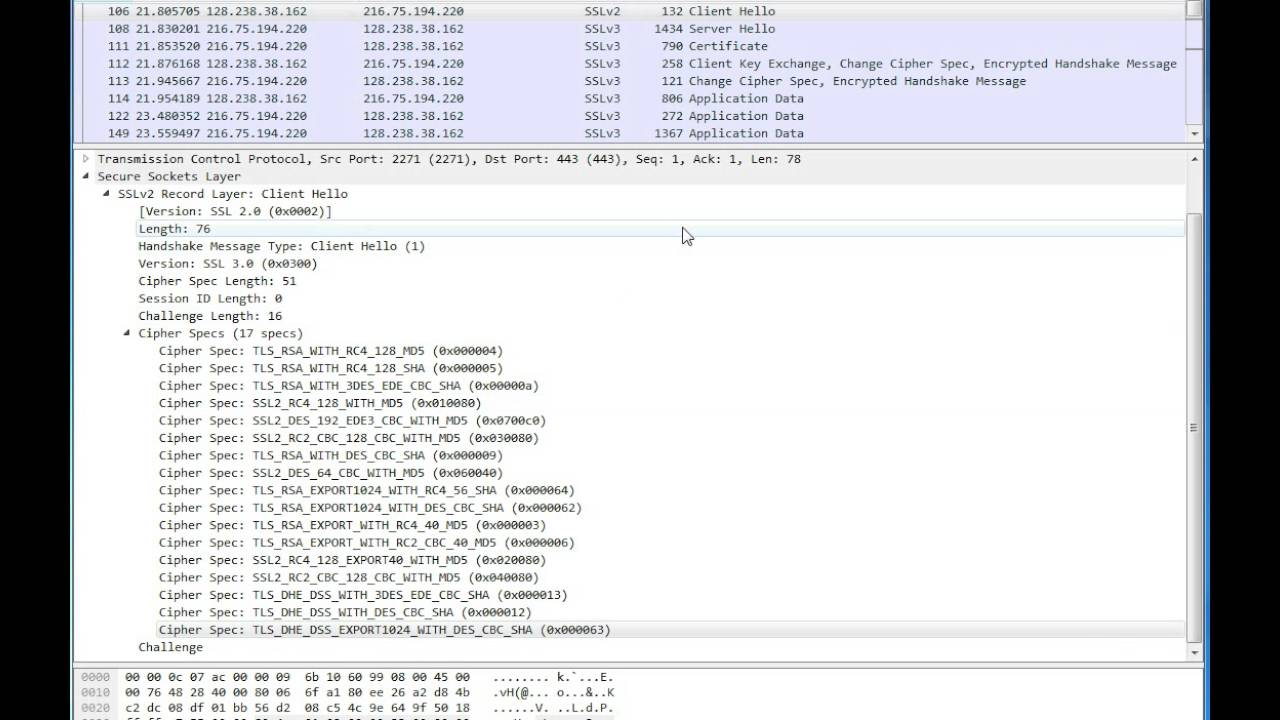 Wireshark capture showing ssl handshake youtube wireshark capture showing ssl handshake xflitez Gallery