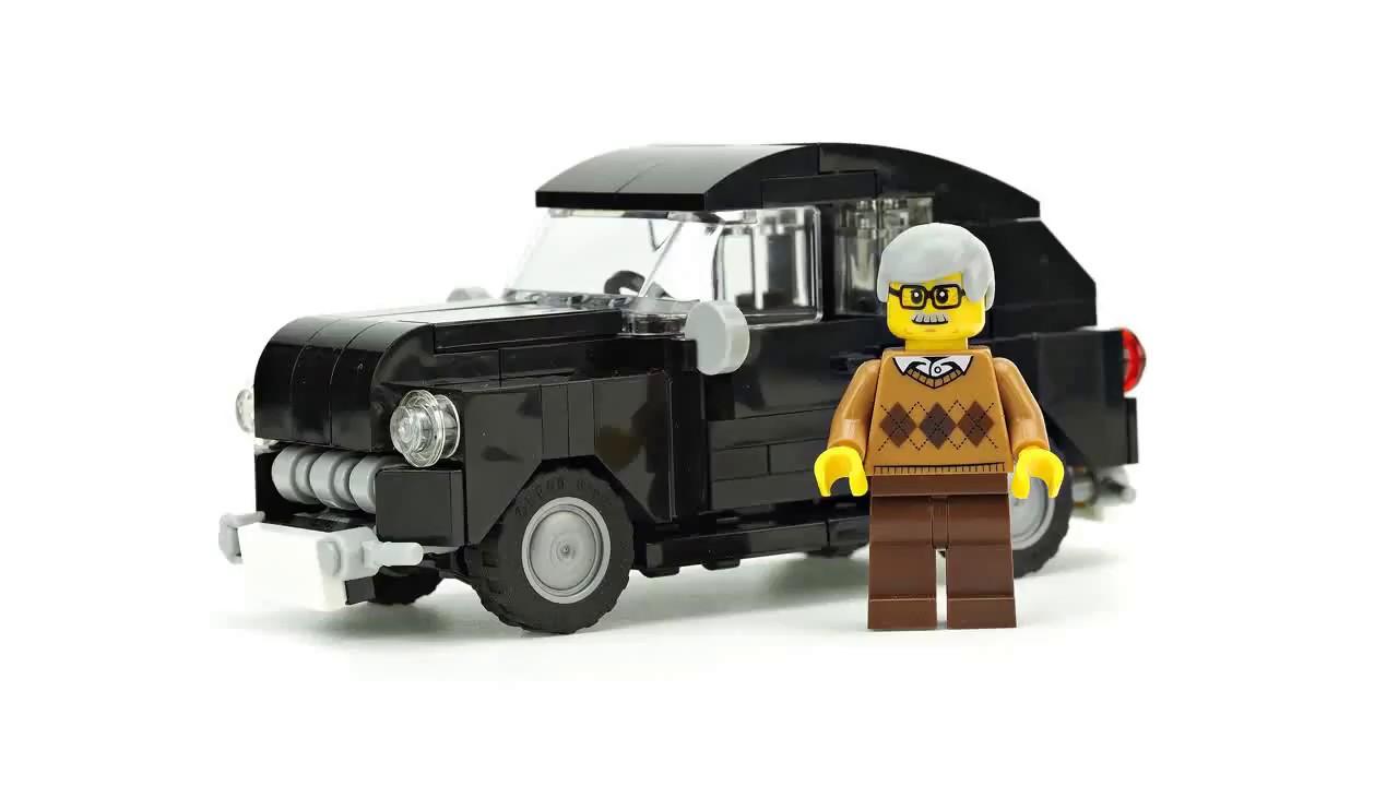 Lego Vintage Car Moc Building Instructions Youtube