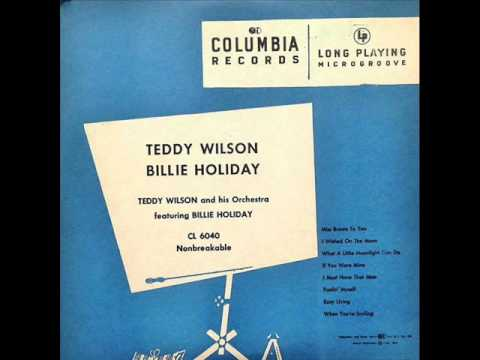 Teddy Wilson & His Orchestra. Easy Living. 1937
