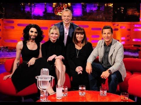 The Graham Norton Show with Kirsten Dunst, Bear Grylls, Conchita Wurst (русские субтитры)