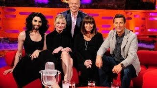 The Graham Norton Show with Kirsten Dunst, Bear Grylls, Conchita Wurst (русские субтитры)