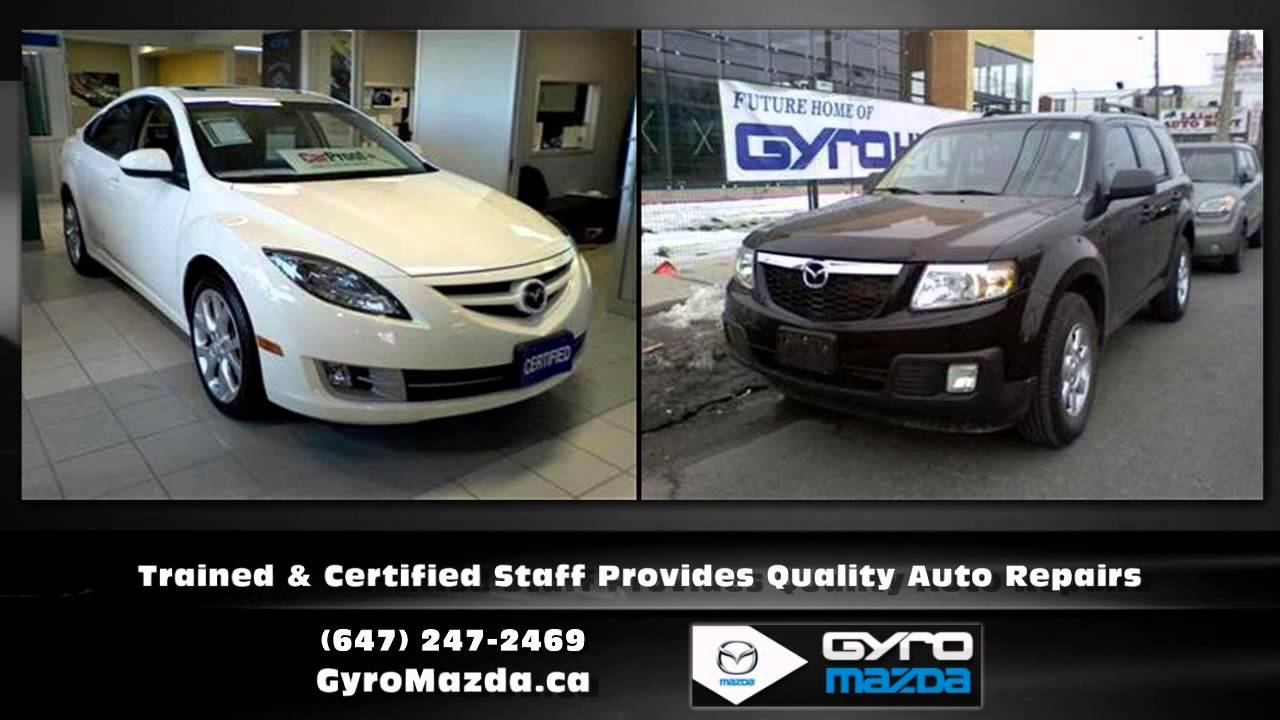 Toronto Ontario Mazda Dealership Gyro Mazda YouTube - Mazda ontario dealers