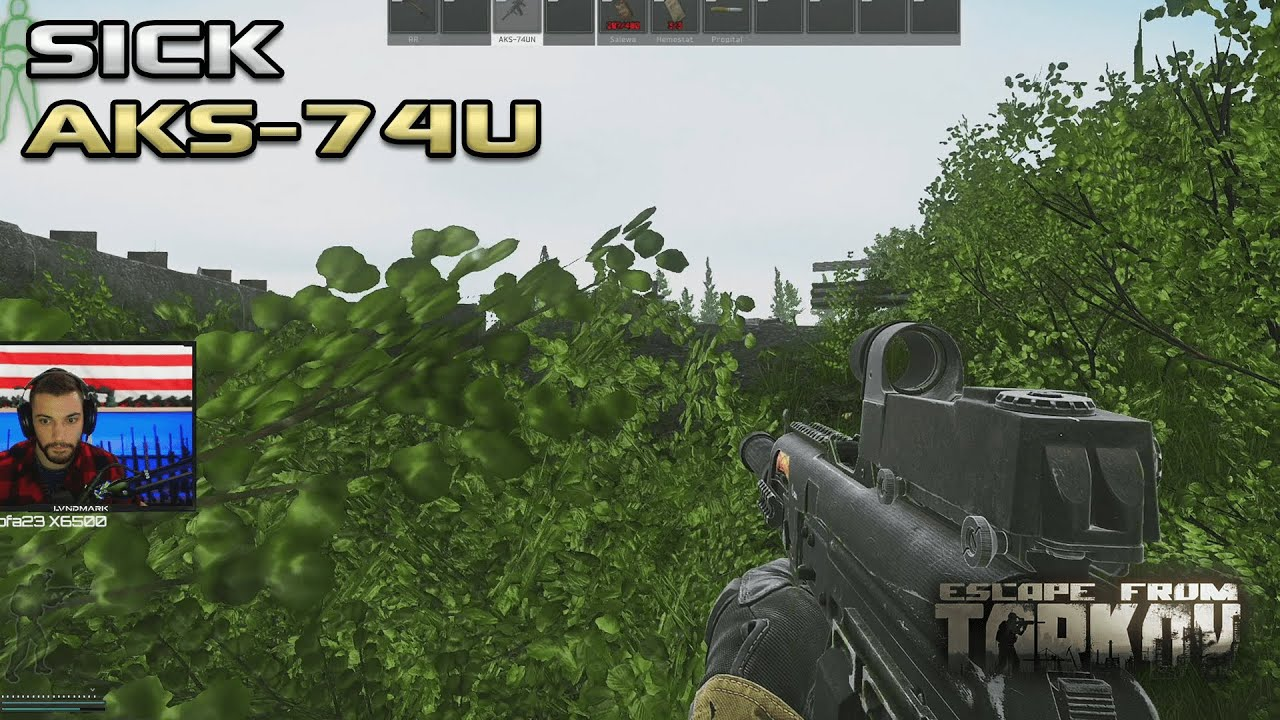 I Picked Up This AK-74U From A Player And Its INSANE - Escape From Tarkov
